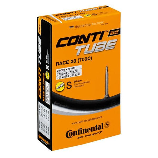 Continental R28 700 x 20 - 25C Presta 60mm long valve inner tube