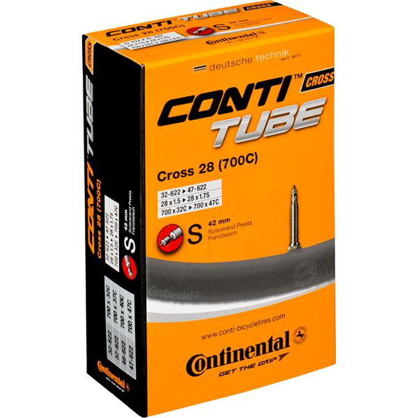 Continental Cross 700 x 32 - 42C Presta valve inner tube