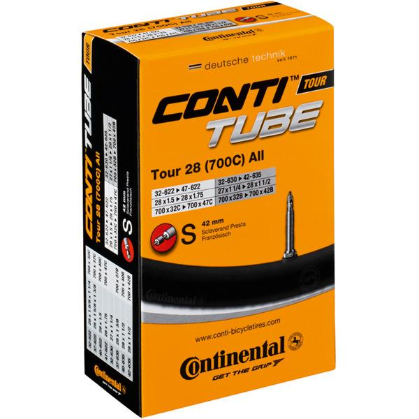 Continental Tour 28 light tube 700 x 32 - 47C Presta valve Inner Tube