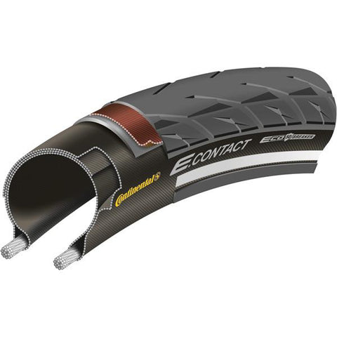 Continental E Contact Reflex 700 x 42C black tyre