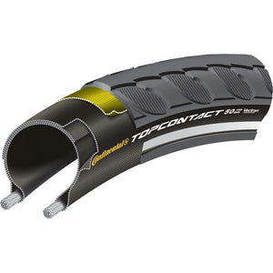 "Continental Top Contact II Reflex 27.5 x 2.0"" black folding"