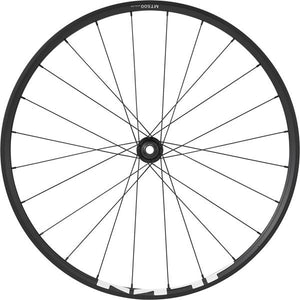 Shimano WH-MT500 MTB wheel, 27.5 in (650b), 15 x 100 mm thru-axle, front, black