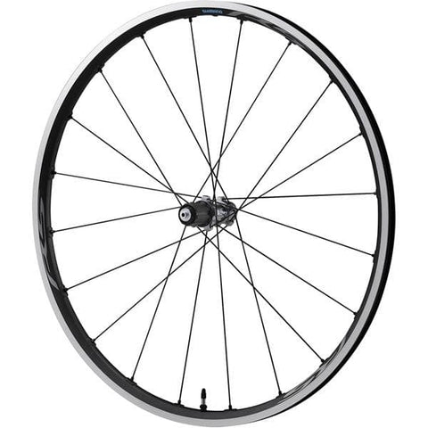 Shimano RS500-TL Tubeless compatible clincher, 9/10/11-speed, rear 130 mm Q/R, grey