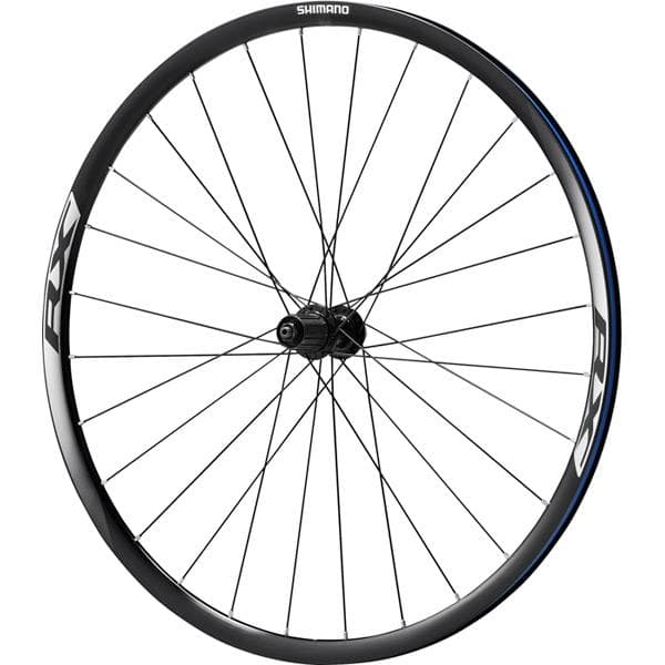 Shimano WH-RX010 disc road wheel, clincher 24 mm, 11-speed, black, rear