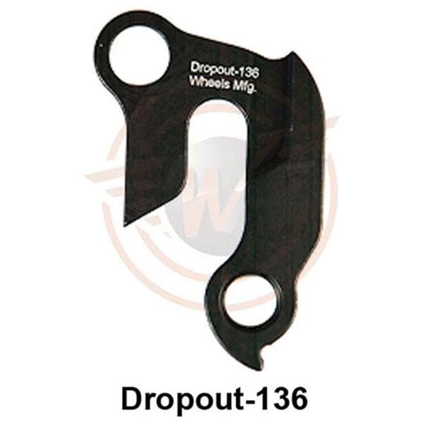 Wheels MFG Replaceable derailleur hanger / dropout 136