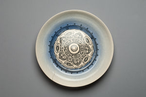 sirkelplate med design
