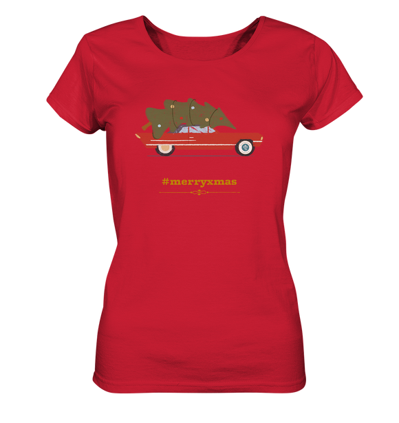 #merryxmas - Ladies Organic Shirt