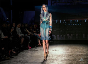 PIA BOLTE® Dress New York Rainy Day - PIA BOLTE® COUTURE