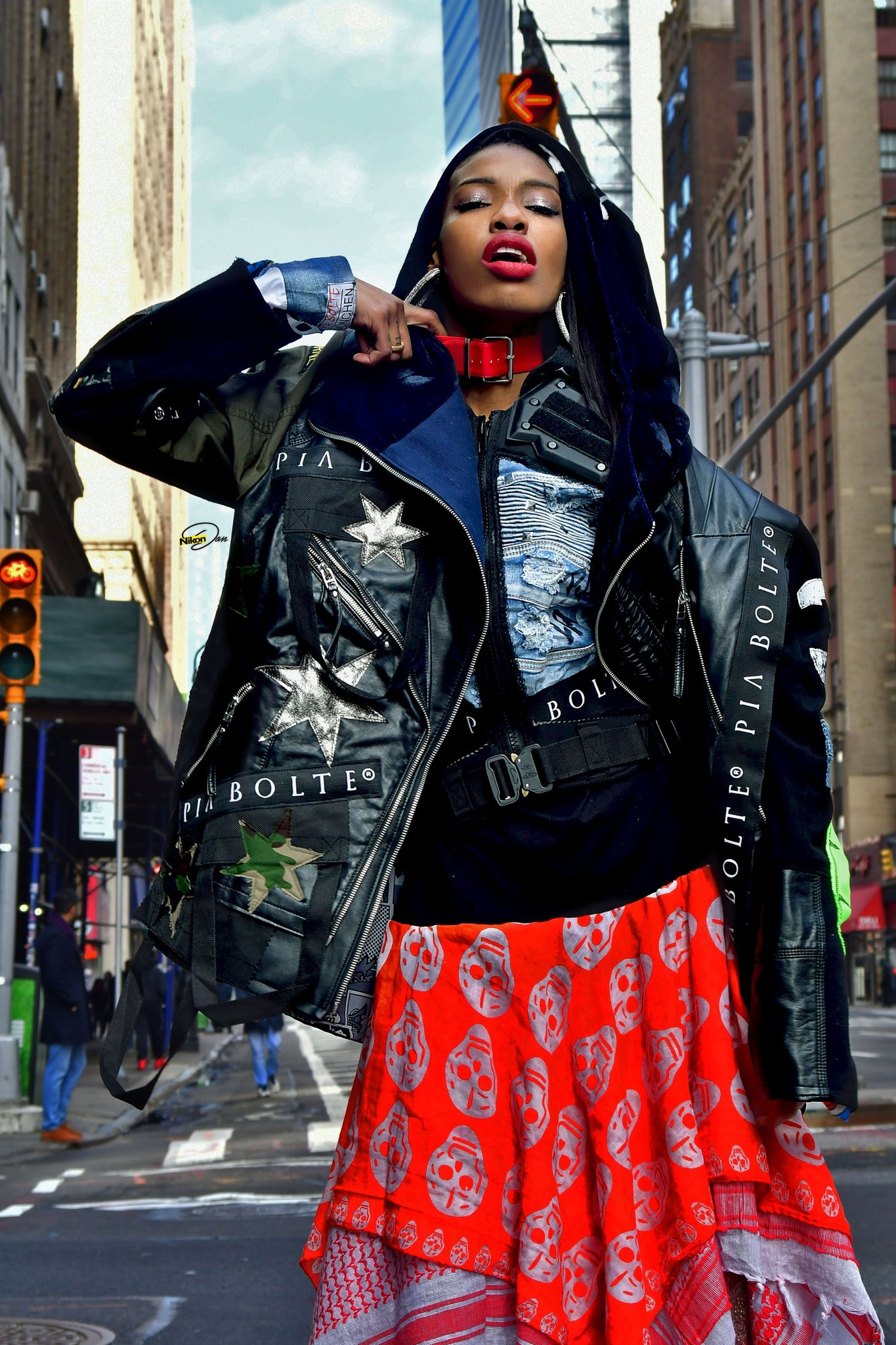 PIA BOLTE ® Jacket NYC 8th AV. - PIA BOLTE® COUTURE