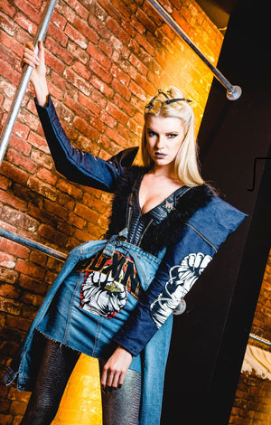 PIA BOLTE ® NYFW 2020 DRESS DOPE GIRL - PIA BOLTE® COUTURE