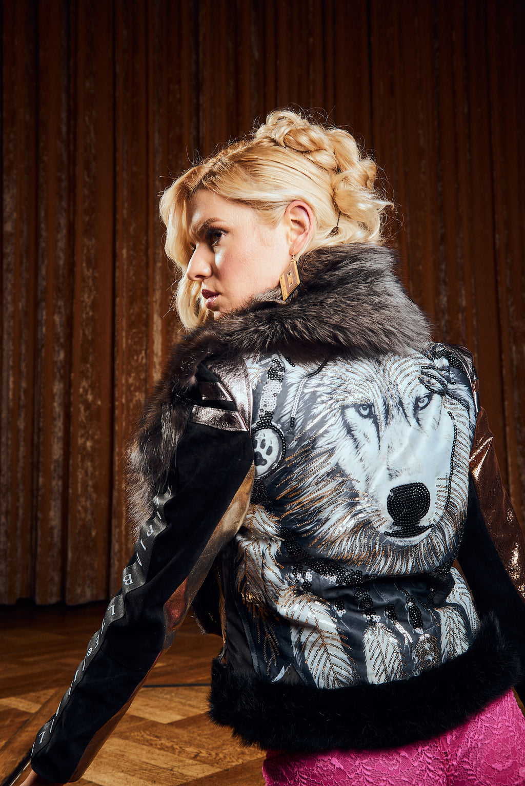 PIA BOLTE® WINTER Jacket WOLF - PIA BOLTE® COUTURE