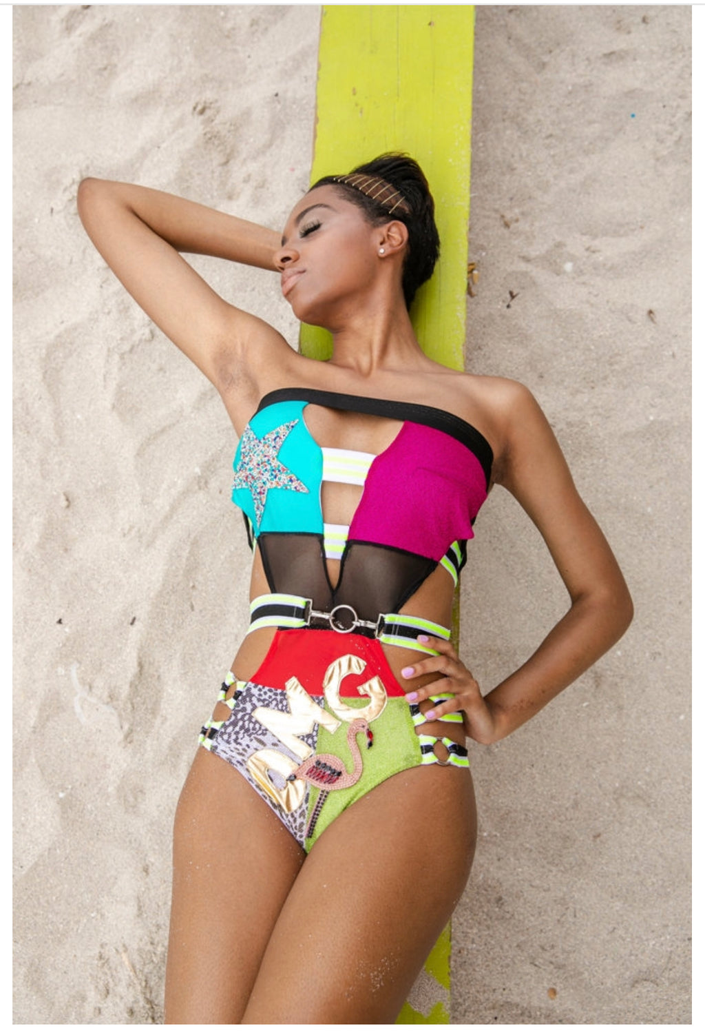 SWIM SUIT Miami OMG - PIA BOLTE® COUTURE