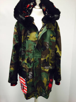 PIA BOLTE® MEN PARKA #RICH