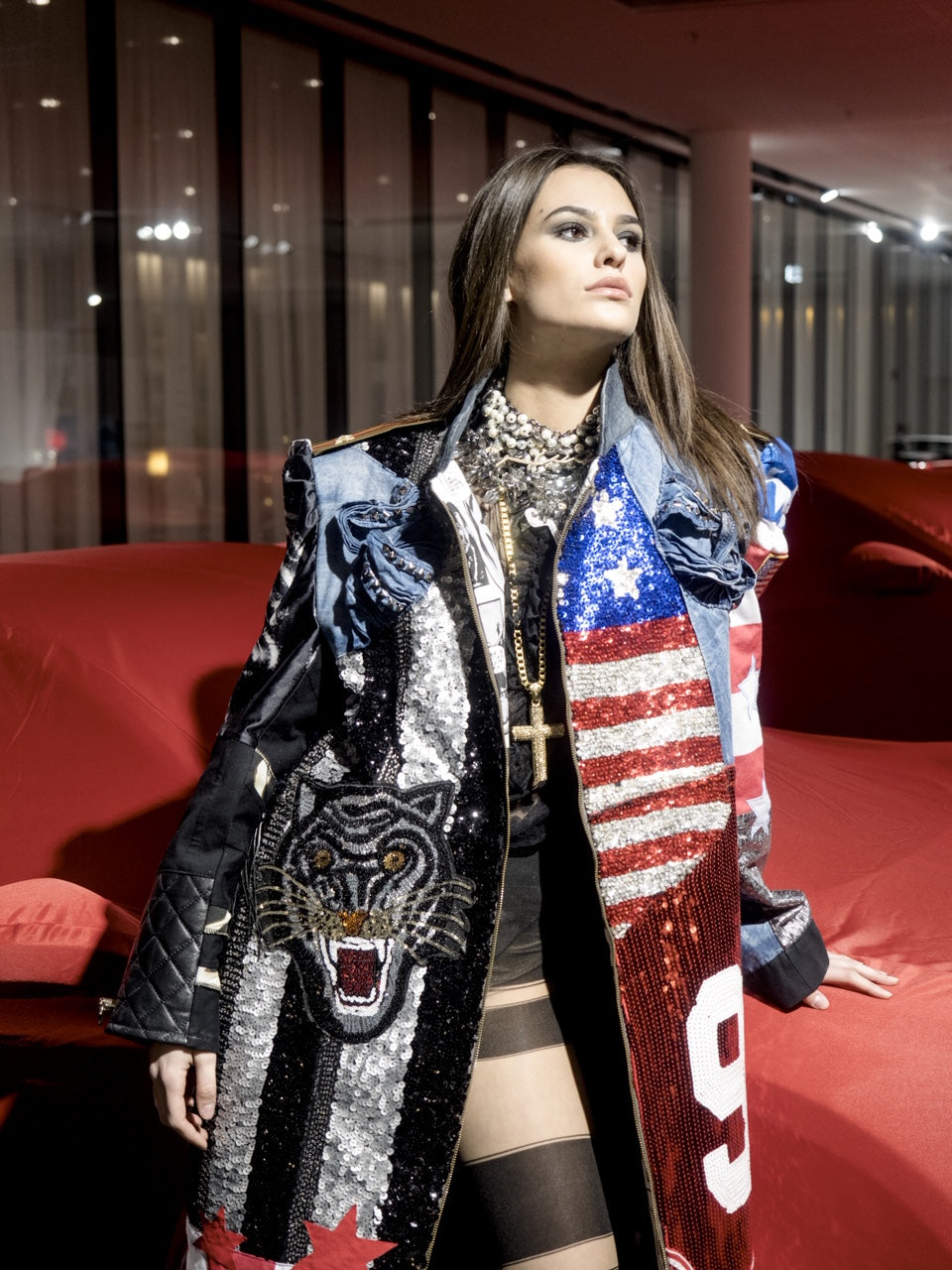 PIA BOLTE® American Dream COAT - PIA BOLTE® COUTURE