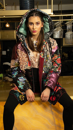 PIA BOLTE® COAT Winter flowers