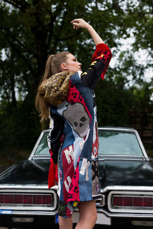 PIA BOLTE® COAT Clever Girl 2020 NYC Collection - PIA BOLTE® COUTURE
