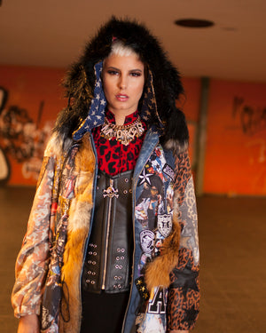 PIA BOLTE® fur COAT A-STAR