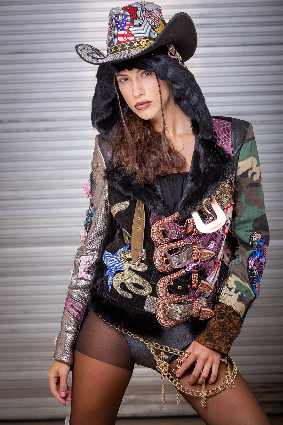 PIA BOLTE® Jacket Cowgirl LOVE! - PIA BOLTE® COUTURE