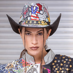 PIA BOLTE® COWBOY HAT - PIA BOLTE® COUTURE