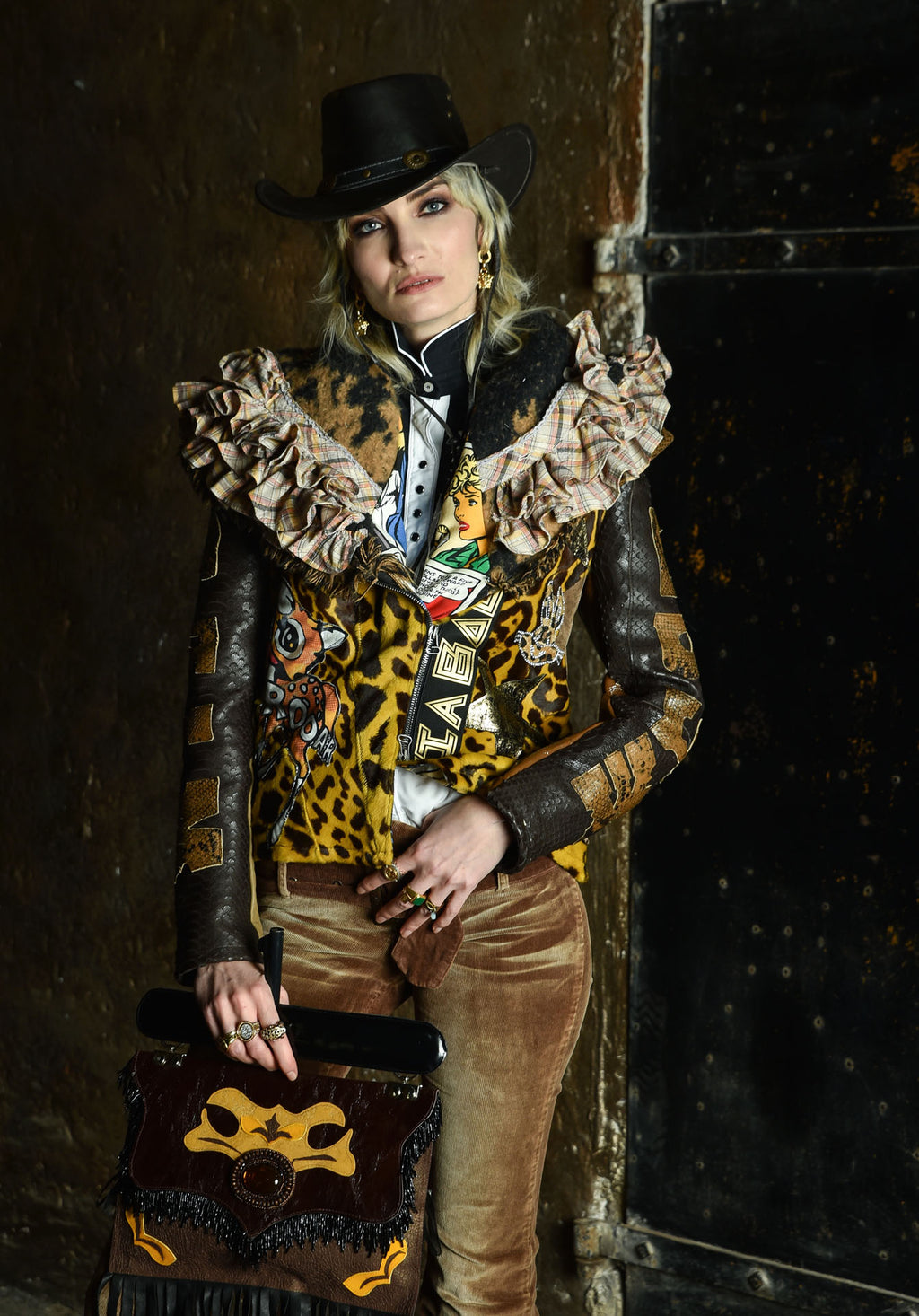 PIA BOLTE Jacket WILD WEST Power!
