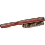 GranNaturals Mens Boar Bristle Hair Brush - 100% Natural Brown Wooden Club Style Brush for Men - Styling Beard Hairbrush for Fine, Thin or Thick Hair