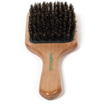 GranNaturals Boar Bristle Paddle Hair Brush for Women and Men - Natural Wooden Hairbrush - For Thick, Fine, Thin, Wavy, Straight, Long, or Short Hair