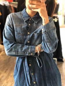 Abito in denim
