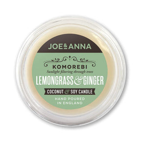 Lemongrass & Ginger coconut & soy wax melt 40g