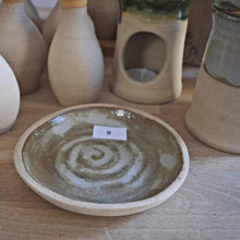 Load image into Gallery viewer, Bespoke, mid-century modernist, hand-made, natural, stoneware dishes
