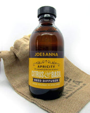 Load image into Gallery viewer, Citrus & Basil reed diffuser 200ml Joe and Anna Marketplace