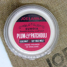 Load image into Gallery viewer, joe-and-anna-marketplace - Plum & Patchouli coconut & soy wax melt 40g - Joe and Anna Marketplace -