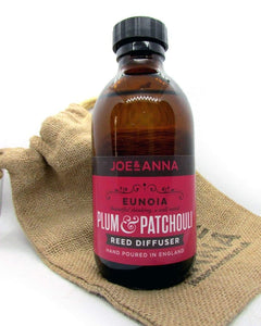 joe-and-anna-marketplace - Plum & Patchouli reed diffuser 200ml - Joe and Anna Marketplace -