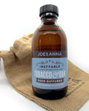 Load image into Gallery viewer, joe-and-anna-marketplace - Tobacco & Oak reed diffuser 200ml - Joe and Anna Marketplace -