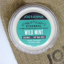 Load image into Gallery viewer, Wild Mint coconut & soy wax melt 40g Joe and Anna Marketplace