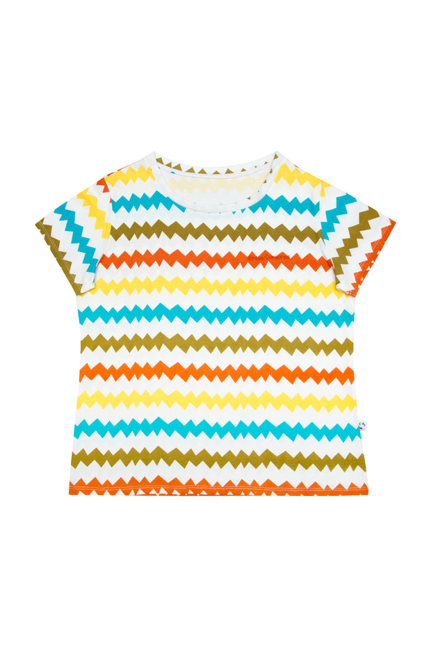 Camiseta Zigzag - Adulto