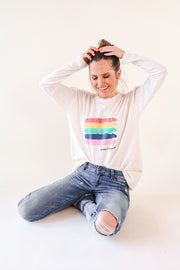 CAMISETA ARCOIRIS ADULTO