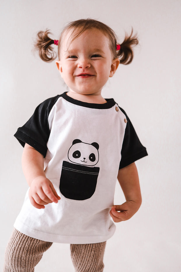 Camiseta Kori the panda + Mordedor