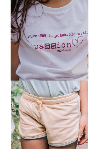 Camiseta Passion + Short Jogger