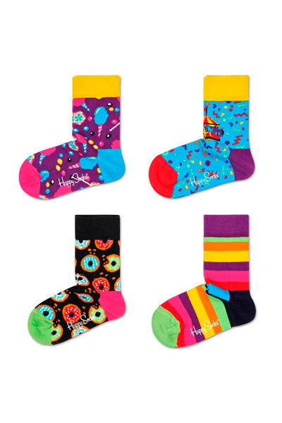 Pack 4 calcetines Happy Socks - Bebé y Niño