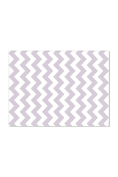 Pack de 2 Salvamanteles individuales Gris Chevron