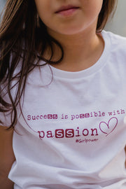 Camiseta Passion - Niño/a