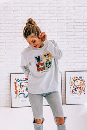 "Sudadera Disney Adulto - Mickey ""First Influencer"""