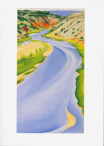 Georgia O'Keeffe Note Card Folio - Landscapes