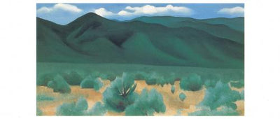 Georgia O'Keeffe Boxed Note Card Set - Landscapes