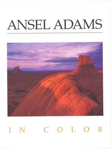 Ansel Adams Boxed Note Card Set - In Color