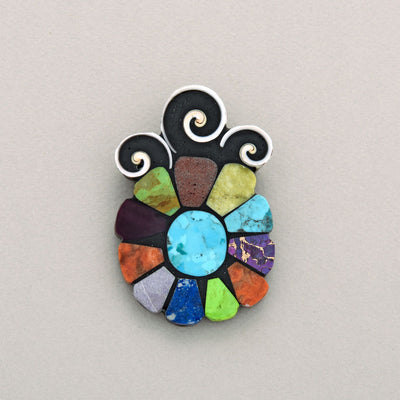 Mary Tafoya Sun Pin/Pendant