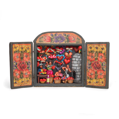 Heart Shop Retablo