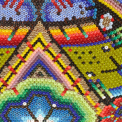 Large Huichol Prayer Bowl