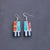 Shell and Turquoise Inlay Earrings