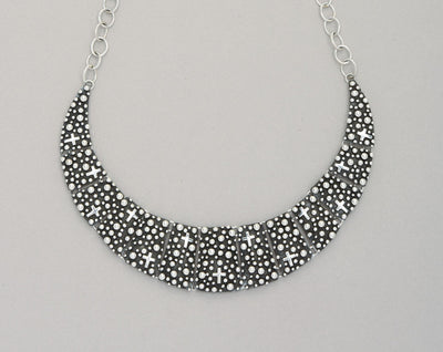 """Million Drops"" Sterling Silver Collar Necklace"